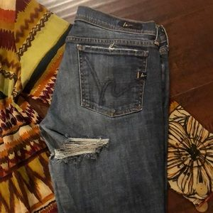 🔵Citizens of Humanity Distressed Jeans